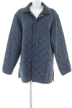 Barbour Gewatteerd jack donkerblauw-donkergroen quilten patroon simpele stijl