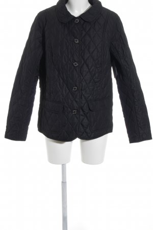 Barbour Steppjacke dunkelblau Steppmuster Brit-Look