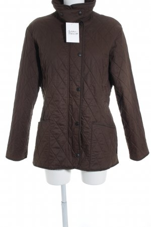 Barbour Steppjacke dunkelbraun Casual-Look