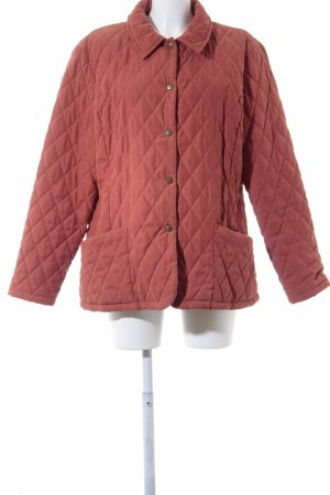 Barbour Steppjacke dunkelorange College-Look