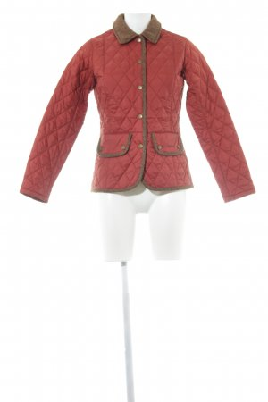Barbour Quilted Jacket herringbone pattern business style