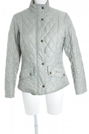 Barbour Steppjacke graugrün Casual-Look