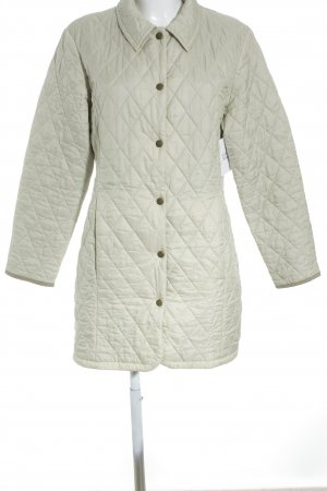 Barbour Veste matelassée beige clair motif de courtepointe style simple