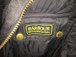 Barbour Steppjacke schwarz