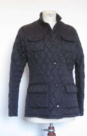 Barbour Steppjacke,  schwarz