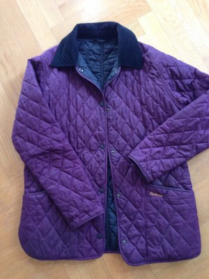 Barbour Steppjacke violett
