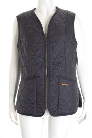 Barbour Steppweste dunkelblau Country-Look