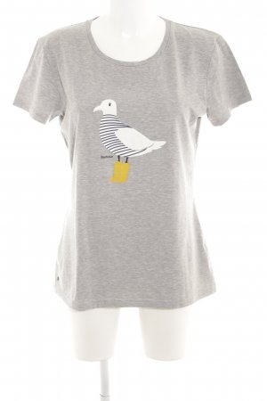 Barbour T-Shirt themed print casual look