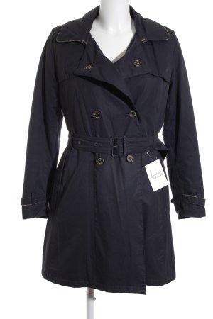 Barbour Trenchcoat dunkelblau-khaki 70ies-Stil