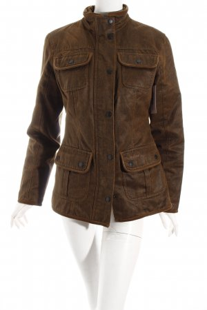 Barbour Übergangsjacke braun Casual-Look