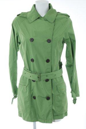 Barbour Übergangsjacke neongrün-grasgrün Casual-Look