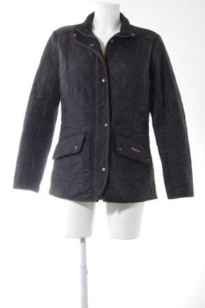 Barbour Veste mi-saison noir motif de courtepointe style classique