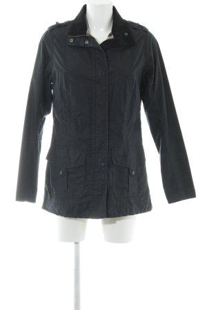 Barbour Overgangsjack zwart straat-mode uitstraling