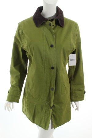 Barbour Übergangsmantel grün-dunkelbraun Casual-Look