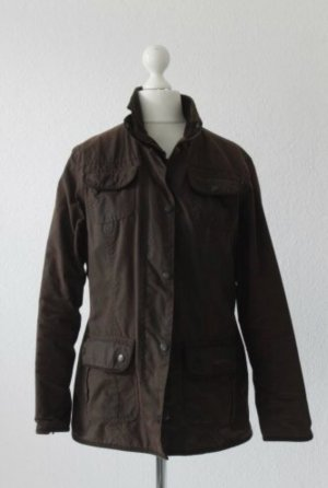 Barbour Waxed Jacket dark brown