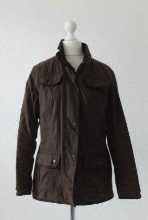 Barbour Waxed Jacket dark brown