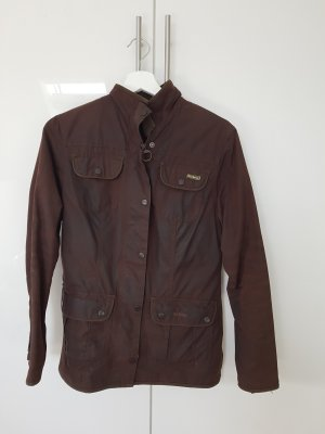Barbour Waxed Jacket bronze-colored