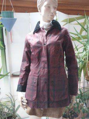 Barbour Waxed Jacket bordeaux