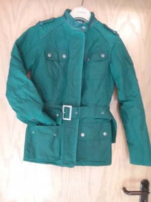 Barbour Waxed Jacket petrol