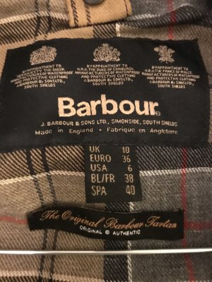 Barbour Waxed Jacket dark blue-blue