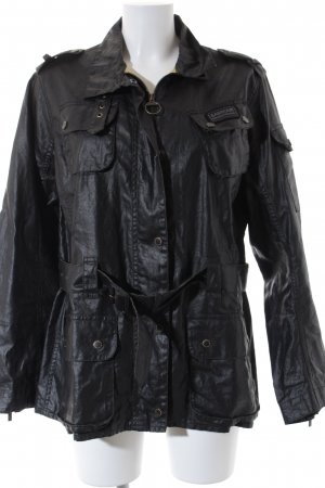 Barbour Winterjacke schwarz Casual-Look