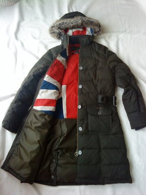 Barbour Cappotto invernale marrone scuro