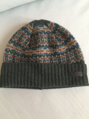 Barbour Beanie multicolored wool