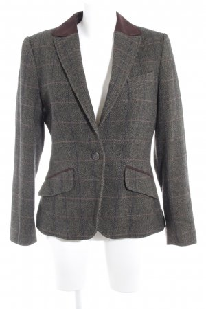 Barbour Wool Blazer check pattern business style