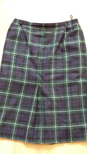bardehle Wool Skirt dark blue-dark green new wool