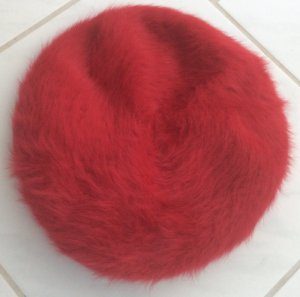 Knitted Hat red-dark red