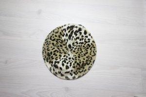 Barett Mütze Baskenmütze Vintage Leopard Animal