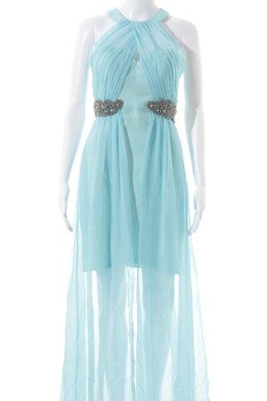 bariano Vestido de baile azul celeste-azul bebé elegante
