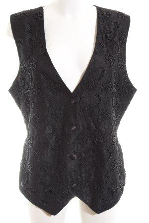 Barisal Anzugweste schwarz Elegant