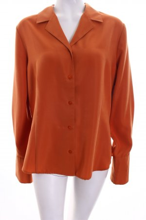 Barisal Langarm-Bluse orange Casual-Look