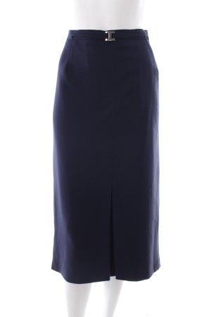 Barisal Jupe mi-longue bleu foncé style simple