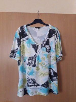 Barisal: neuwertiges Kurzarmshirt Größe 44-46 bunt