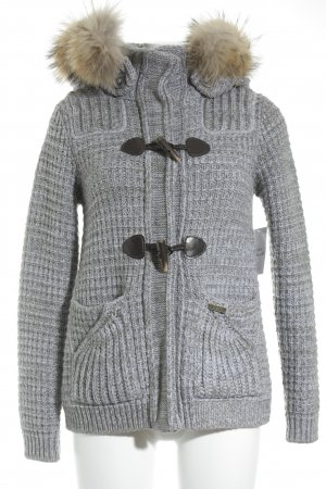 Bark Strickjacke Webmuster Glitzer-Optik