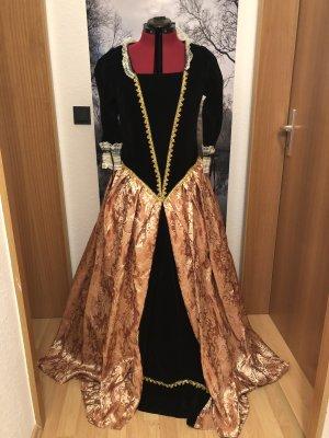 Empire Dress brown-black