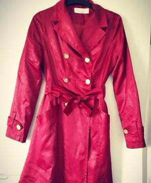 Butik Heavy Raincoat dark red