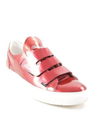 Barracuda Velcro Sneakers dark red extravagant style