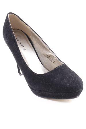 Barratts High Heels schwarz klassischer Stil