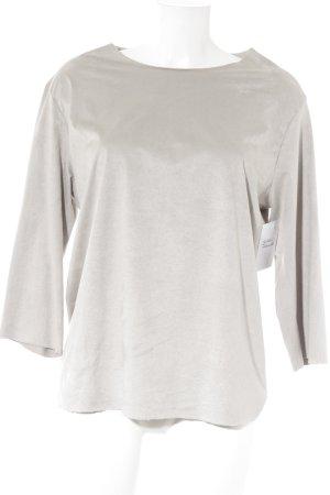Barre Noire Manica lunga grigio chiaro stile casual