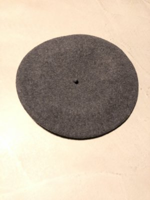 Loevenich Beret anthracite-dark grey