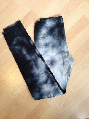 Bartik Barticlook Jeans schwarz grau weiß Gr. 38 H&M