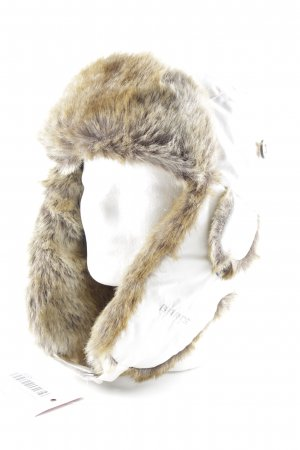 Barts Fur Hat cream-brown casual look
