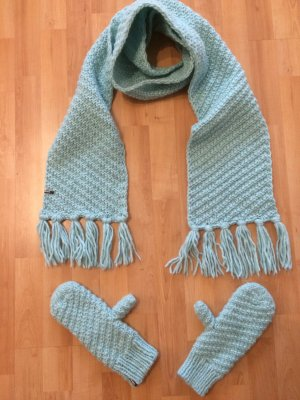 Barts Handschuhe Schal türkis (NEU)