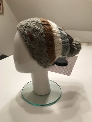Barts Knitted Hat brown-dark orange