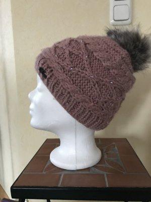 Barts Fur Hat grey lilac