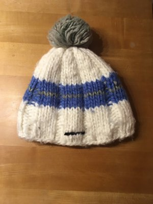Barts Bobble Hat white-blue