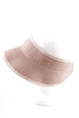 Barts Sun Hat dusky pink-pink beach look